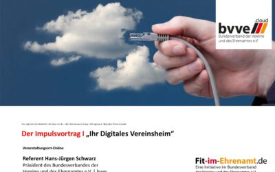 "Impulsvortrag Altusried ""Digitales Vereinsheim"""